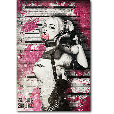$ CDN13.52 • Buy HARLEY QUINN - Suicide Squad Movie Silk Poster 12x18 24x36inches 053