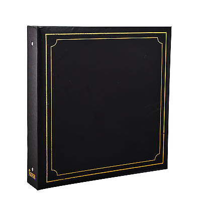 Large 6x4 Photo Album For 500 Photo's - Black Soft Padded Cover - AL-9174 • 15.99£