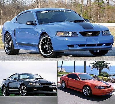 $67.49 • Buy Fits 99-04 Fits 99-04 Mustang MACH 1 Chin Spoiler - All Mustangs FREE SHIPPING