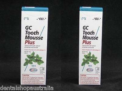 AU64.50 • Buy GC Tooth Mousse  Plus Twin Pack