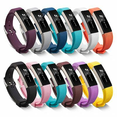 AU7.43 • Buy Replacement Wristband Bracelet Strap Wrist Band For Fitbit Alta Classic Buckle