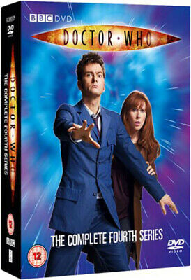 Doctor Who: The Complete Fourth Series DVD (2008) David Tennant Cert 12 6 Discs • 4.51£