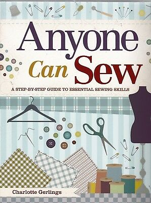 £5.95 • Buy Sewing: Anyone Can Sew - A Step By Step Guide To Sewing Skills - New Pb Book