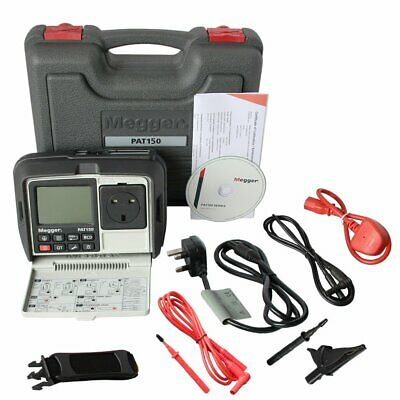 £618.99 • Buy Megger PAT 150R - Rechargable Hand Held Portable Appliance Tester With RCD Test