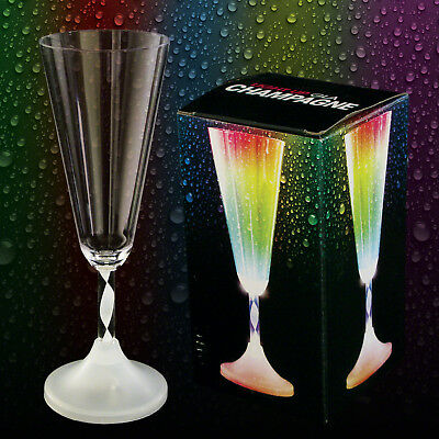Light Up Champagne Glass • 7£