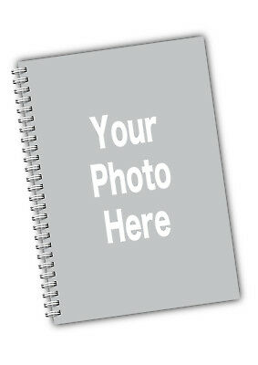 Personalised Softbacked A5 Notebook Notepad With Your Photo  • 8.50£