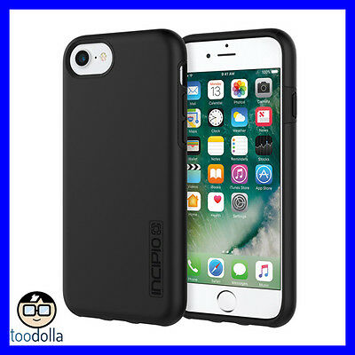 AU38.90 • Buy INCIPIO DualPro Protection Case, Hard Shell Dual Layer, IPhone 6/7/8/SE, Black