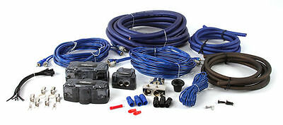 $59.99 • Buy The InstallBay AK01 0 AWG Gauge Complete Dual Amplifier/Amp Installation Kit
