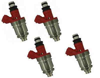 AU234.99 • Buy 4 FUEL INJECTORS For HOLDEN RODEO TF 4ZE1 2.6L 94-98 RED TOP INJECTOR