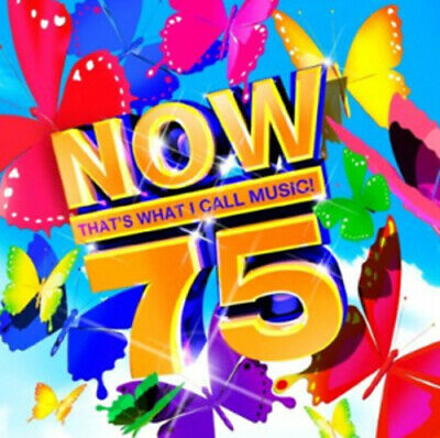 Various Artists : Now That's What I Call Music! 75 CD 2 Discs (2010) Great Value • 2.18£