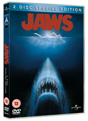 Jaws DVD (2005) Roy Scheider, Spielberg (DIR) Cert 12 2 Discs Quality Guaranteed • 1.98£