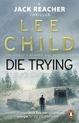 A Jack Reacher Thriller: Die Trying By Lee Child (Paperback) Fast And FREE P & P • 3.97£