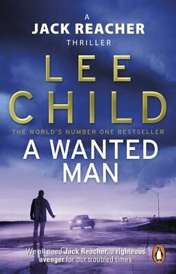 A Jack Reacher Thriller: A Wanted Man By Lee Child (Paperback) Amazing Value • 3.67£