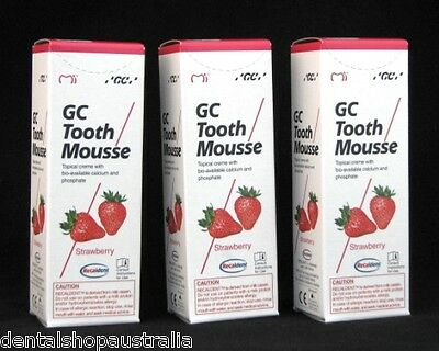 AU91.95 • Buy GC Tooth Mousse Relieves Whitening Sensitivity, Dry Mouth,conditions Teeth  (S3)