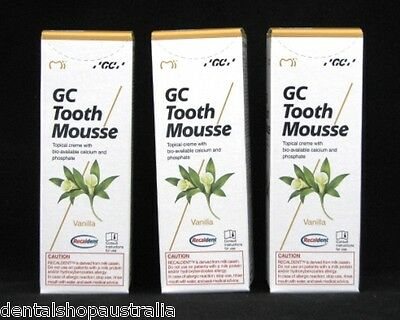 AU91.95 • Buy GC Tooth Mousse  Relieves Whitening Sensitivity, Dry Mouth,conditions Teeth (v3)