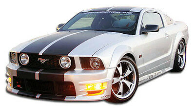 $677 • Buy 05-09 Ford Mustang Duraflex GT500 Wide Body Kit 10pc 104952