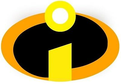 ***great Incredibles Logo***************fabric/t-shirt Iron On Transfer • 2.15£