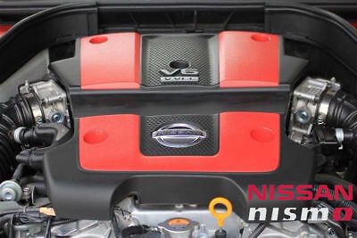 $ CDN347.04 • Buy Nissan Oem Genuine Nismo Front Red Engine Trim Cover For 370z G37 Q40 60 Vq37vhr