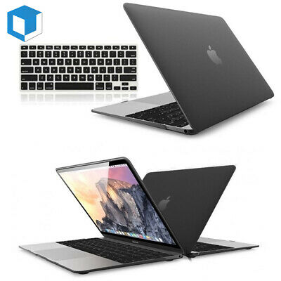 $6.99 • Buy Hard Rubberized Case Shell +Keyboard Cover For Macbook Pro 13/15  Air 11/13 Inch