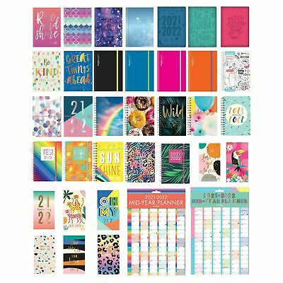 £3.99 • Buy 2021 - 2022 A5 Academic Mid Week To View Student Diary Planner