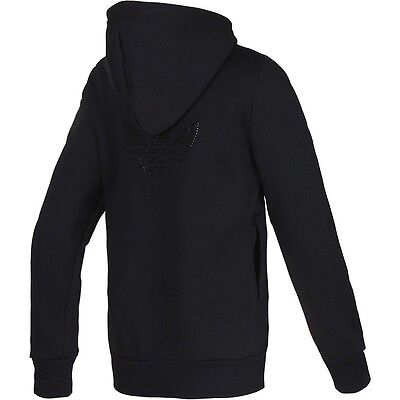 Adidas Originals Rs Diamante Hooded Track Top Hoodie Woman's Girls Size 6 & 8 • 29.99£