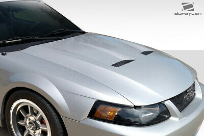 $434 • Buy Duraflex Cobra Look Hood 1 Piece For Mustang Ford 99-04 Ed_112775