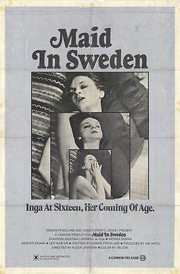$9.98 • Buy MAID IN SWEDEN Movie POSTER 11x17