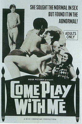 COME PLAY WITH ME Movie POSTER 27x40 • 13.47£