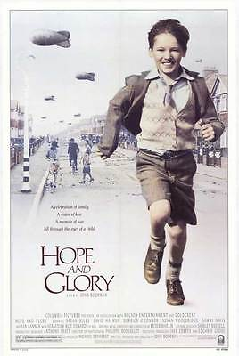 AU23.57 • Buy HOPE AND GLORY Movie POSTER 27x40 Sebastian Rice-Edwards Geraldine Muir Sarah