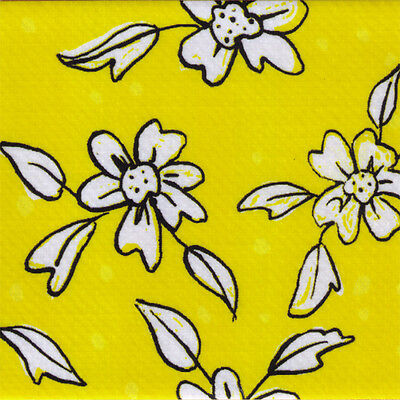 $6.39 • Buy Yellow Floral Platypus Designer Duct Tape 1.88 In X 30 Ft