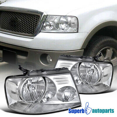 $81.98 • Buy For 2004-2008 Ford F150 06-08 Lincoln Mark LT Truck Headlights Turn Signal Lamps