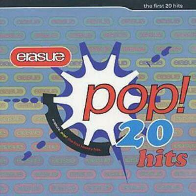 Erasure : Pop!: The First 20 Hits CD (2001) Incredible Value And Free Shipping! • 2.09£