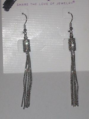 $ CDN17.56 • Buy Lia Sophia RUMBA EARRINGS - LOTS OF SPARKLE -RV $48 GORGEOUS & STYLISH