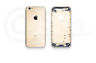 CHAMPAGNE - Metal Chassis Rear Replacement Housing Back Cover For IPhone 6s UK • 9.95£