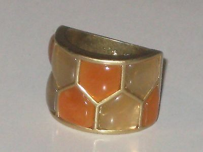 $ CDN18.87 • Buy Lia Sophia HONEYCOMB RING SIZE 7 - LOVELY COLORS -$98 GREAT SOFT COLORS *RARE*