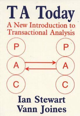 TA Today: A New Introduction To Transactional Analysis By Ian Stewart • 7.23£