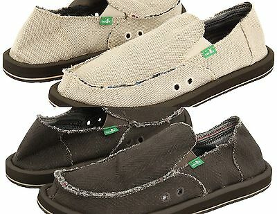 Sanuk Hemp Men's Sidewalk Surfer Slip-on Loafer Medium (D, M) • 40.03£