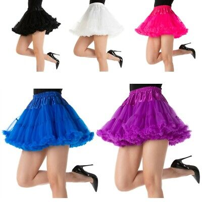 Luxury Thick TUTU Dance Burlesque 1920's Fancy Dress Costume Accessory 3 LAYER • 3.80£