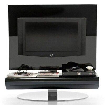 Calligaris TV Unit Display Stand Black Glass Holds 37'' TV RRP £1800 SALE £375 • 375£