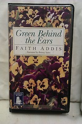 Green Behind The Ears By Faith Addis: Unabridged Cassette Audiobook (II1) • 6£