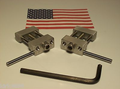 $17.95 • Buy Set Of 2 Machinist Work Stops  Mill (1 Left And 1 Right)  Low Profile