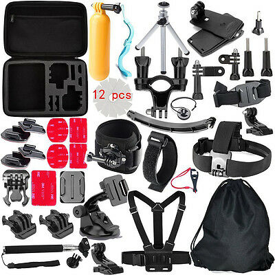 $ CDN49.45 • Buy Accessories Bundles Kit For Gopro Hero9 8 7 6 5 4 Session 3+/SJCAM SJ5000 H9R H9