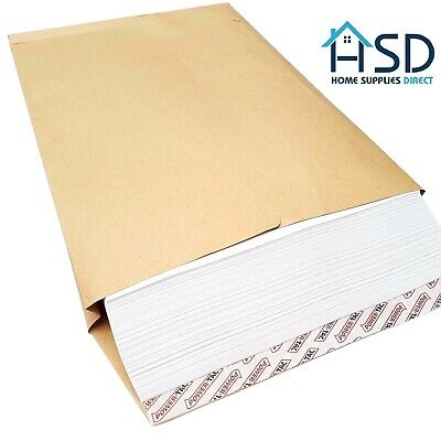 £4.89 • Buy C4 25mm Gusset Envelopes Strong Brown Manilla A4 120gsm Thick Expanding Width
