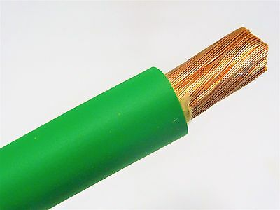 AU29.32 • Buy 10' Ft 4 Awg Gauge Welding Cable green Copper Battery Leads Made In Usa