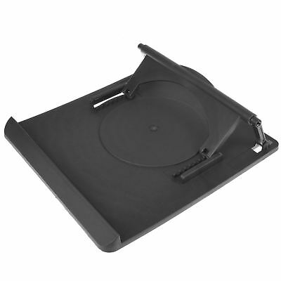 Laptop Table Stand Desk Tray Cooling Holder With 360 Swivel Base • 6.95£