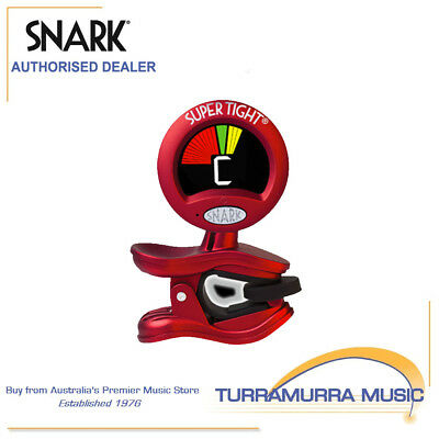 AU31.70 • Buy Snark ST2 Tight Clip On Chromatic All Instrument Tuner & Metronome WST2 Red