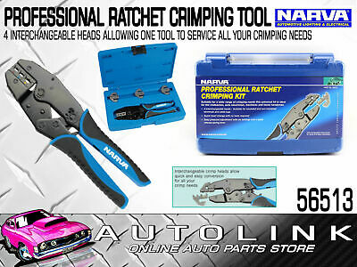 AU148.01 • Buy Narva 56513 Cable Crimping Tool Wire Crimper Battery Terminal 50a Anderson Plug