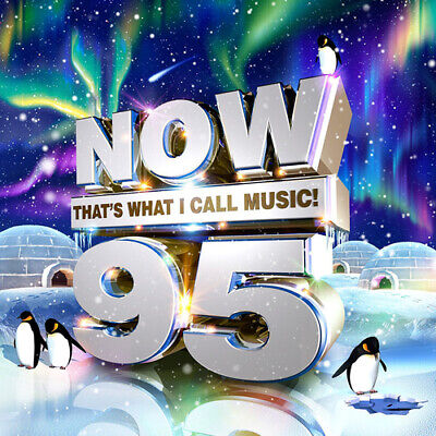 Various Artists : Now That's What I Call Music! 95 CD 2 Discs (2016) Great Value • 2.08£