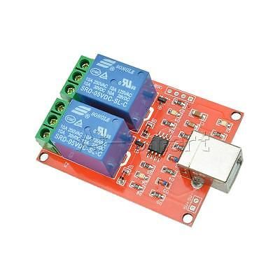 £2.97 • Buy 5V USB Relay 2 Channel Programmable Computer Control For Smart Home