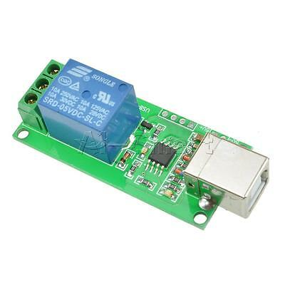 £2.64 • Buy USB Relay 5V 1 Channel Programmable Computer Control Relay For Smart Home